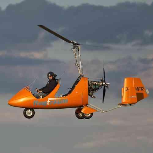 Gyrocopter Rundflug 30 min. Hamburg Schleswig Holstein