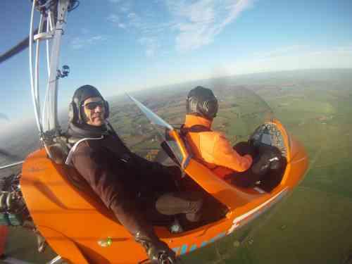 Tragschrauber Flugschule Kompaktkurs Frühjahr