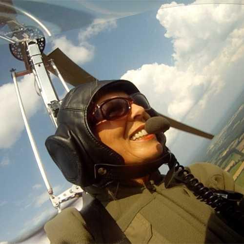 Mediapaket Gyrocopter Inboard Perspektive