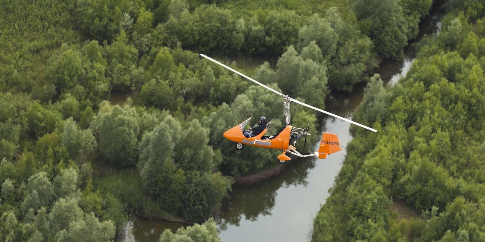 gyrocopter flugtraum schleswig-holstein