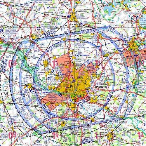 ICAO Karte Hamburg