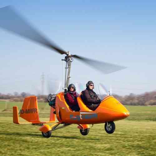 Gyrocopter 15 min.Schnupper-Rundflug