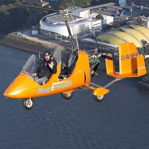 Gyrocopter 60 min. Rundflug