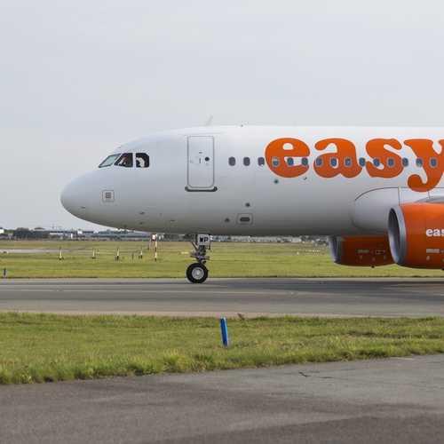 Hamburger Flughafen Easy Jet