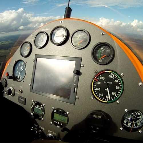Mediapaket Gyrocopter Cockpit